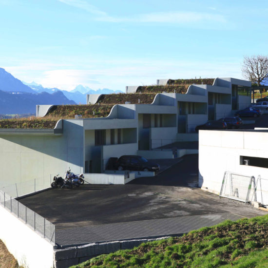 6403 Küssnacht am Rigi Neubau hwp Architekten Mehrfamilien- Reihenhaus