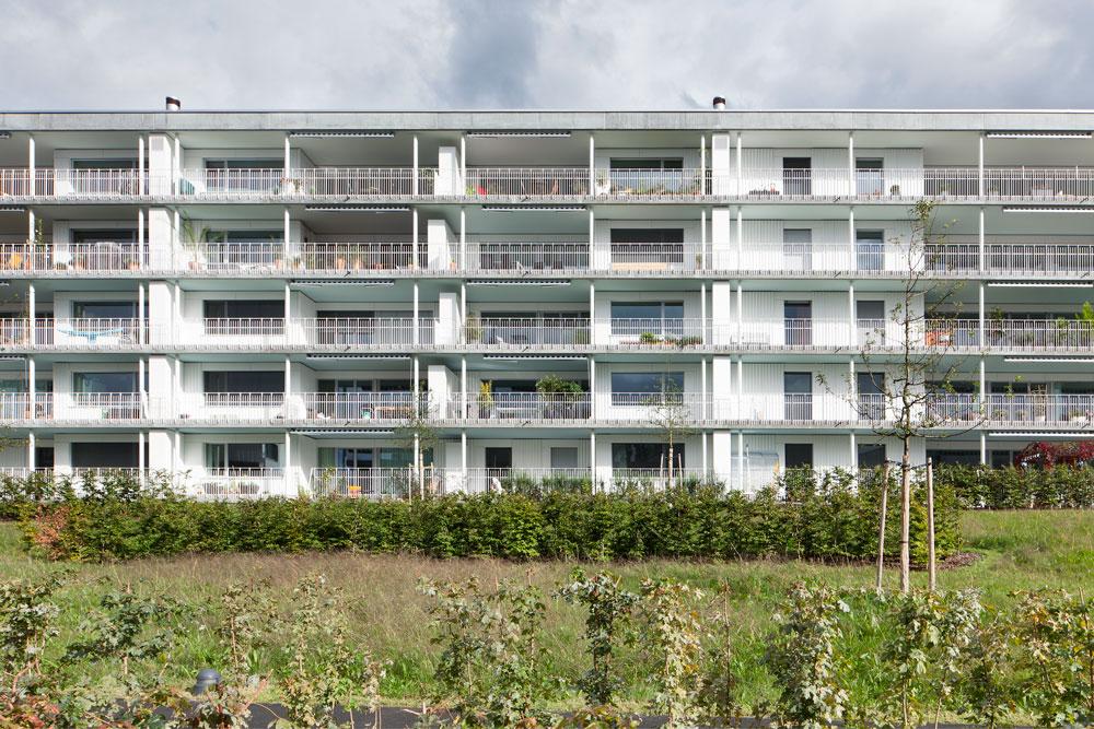 6300 Zug Neubau hwp Architekten Mehrfamilienhaus