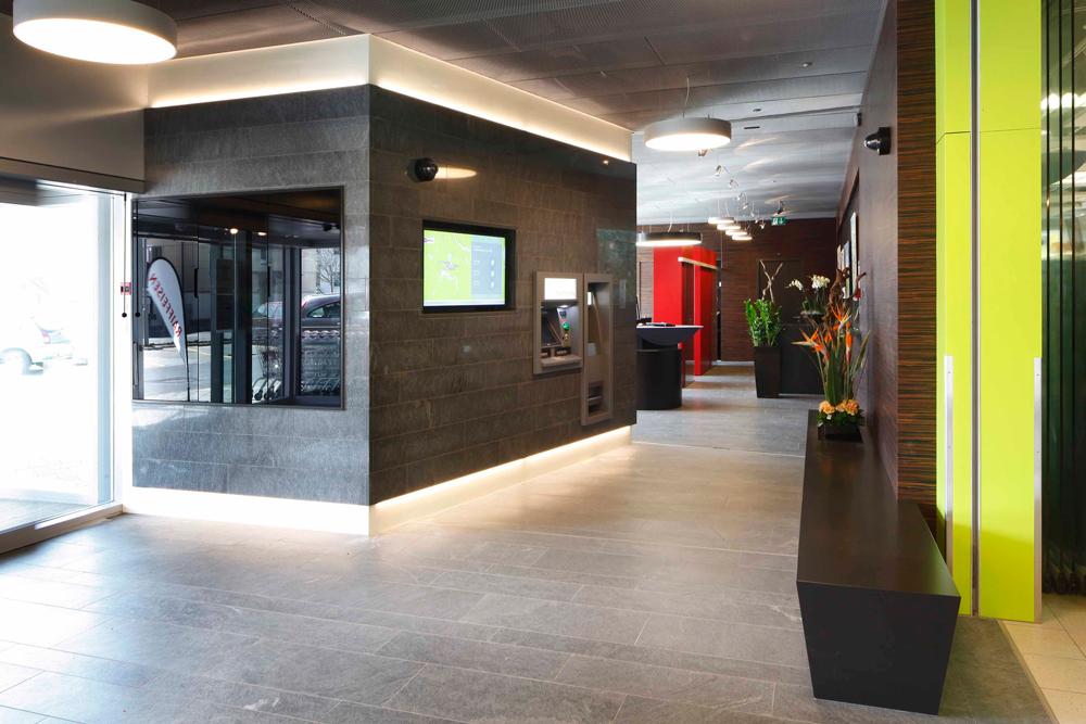 Bankgebäude Weggis hwp Architekten Neubau